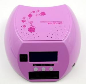 Buy cheap Система ногтя ультрафиолетовой лампы СИД ККФЛ 48В профессиональная с дисплеем и вентилятором лькд product