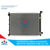 Buy cheap Silver Ford Aluminum Radiator , 2002 Ford Escort Cooling System Brazing Auto Car Spare Parts product