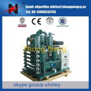Buy cheap purificador de aceite ouble del transformador del vacío de la etapa, máquina de la filtración del aceite aislador, sistema de reciclaje del aceite product
