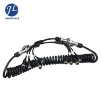 Buy cheap Truck Rear View Camera System Truck Trailer Coiled Cable , Waterproof 7 Pin Cable from wholesalers