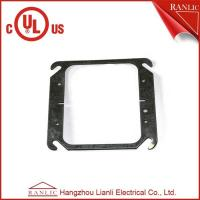 Quality Two Gang Electrical Square Outlet Cover Without Screws , 1.0mm to 1.6mm Thickness for sale