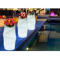 Buy cheap Round Stylish Waterproof Hotel Decorative High Design Muilti-Color Decor LED Illuminate Flower Pot from wholesalers