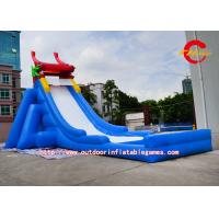large backyard water slides chinese dragon inflatable slip and slide