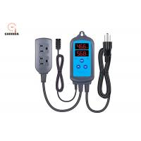 Buy cheap Pre - Wired Digital Dual Stage Temperature Humidity Controller With ±3%RH Accuracy product