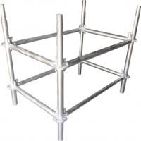 China Φ50*T3 mm Galvanized Steel Lighting Truss Accessories , The Pillar For Background Truss wholesale