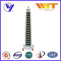Buy cheap Electrical Silicone / Rubber Composite Zinc Oxide Lightning Arrestors for High Voltage Circuit product