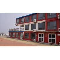 China low cost and modern container hotel /prefab modular hotel container on sale