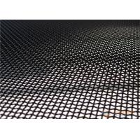 China Anti Theft Stainless Steel Security Mesh 316 Material Black / White / Gray Color on sale