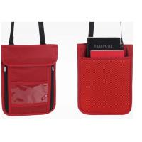 Buy cheap Multi Colored Promotional Nylon Wallets With Detachable Neck Strap product