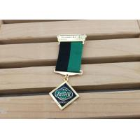 Buy cheap Hard Enamel Die Struck Custom Awards Medals For Army Hornor With Gold Plating product