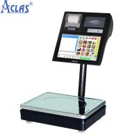 Buy cheap Label Printing Scale,POS Scale,Touch Screen Scale,Touch Label Scale product