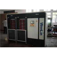 Buy cheap Automatic PC / PET materials ID smart card lamination machine Heating 12 stages Pressure from wholesalers