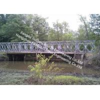 China Mabey Galvanized Steel Bridge Portable Permanent Bailey Steel Structure Decking on sale