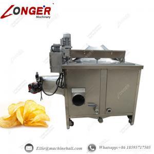 China Potato Chips Frying Machine|Automatic Potato Chips Fryer|Potato Chips Frying Manufacture|Industrial Potato Chips Fryer on sale