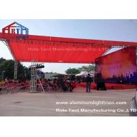 Buy cheap Arch Style Portable Truss System / Outdoor Event Lightweight Truss System product