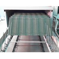 Buy cheap Water Proof Stone Coated Roof Tile Machine / Equipment With Pressing System product