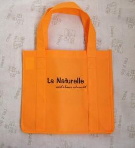 Buy cheap Pliegue los bolsos no tejidos cortados con tintas reforzados de los PP de la manija/llano o el color 1-8 impreso product