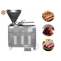 Buy cheap Stainless Steel Meat Processing Equipment Manual Electric Sausage Stuffer product