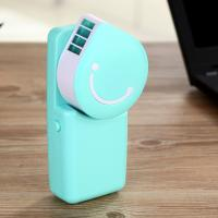 Buy cheap NEW Mini Rechargeable Portable LED Handy USB Air Conditioner Cooling Fan GK-F02 product