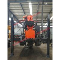 Buy cheap 180m DTH borehole drilling machine 17-25bar air drill rig 130-254mm diameter from wholesalers
