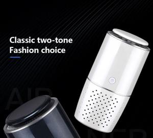 Buy cheap 35m3/h Home Car Mini Cylindrical Smart Air Purifier product