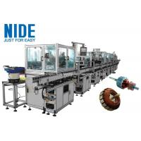 Buy cheap RAL9010 Electric Motor Production Line Armature Auto Winding Machine from wholesalers