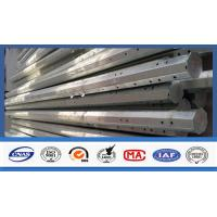 Buy cheap Outdoor Electrical Power Pole , Transmission Steel Utility Power Poles product