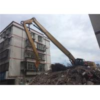 China Caterpillar Cat 349 Excavator Demolition Boom For House Removal 24 Meter on sale
