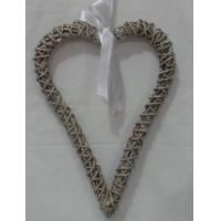 Buy cheap lubao cheap wicker hearts for gift product