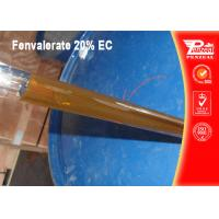 Quality Non Systemic Insecticide For Fruit Trees Fenvalerate 20% EC CAS NO 51630-58-1 for sale