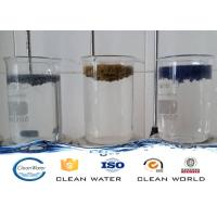 Buy cheap Paint dust flocculant for Spraying sewage treatment Clear liquid with light blue A B agent product