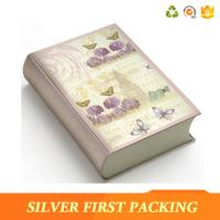 Buy cheap Silver First hot sale custom decorative magnet book shape box product