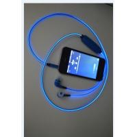 China Led Luminous Neon Bluetooth Stereo Headset With Microphone Night Lighting For iPhone on sale