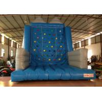 Buy cheap Kindergarten School Inflatable Rock Climbing Wall Double Stitching 5 X 5 X 6m product