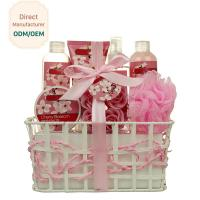 Buy cheap Triple Moisturizing Shower Gift Sets Cherry Blossom Fragrance Creamy Texture product
