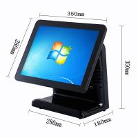 Buy cheap Free Bezel Capacitive Touch Screen Pos System Windows 10 Vtop Black Point Of Sale Devices product