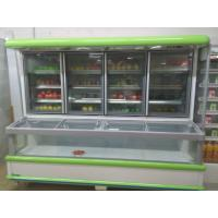 Buy cheap Supermarket Combination Freezer Cooler / Frozen Display Showcase For Hotel product