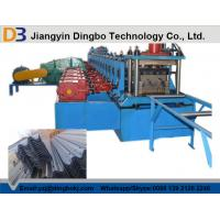 Buy cheap Durable Guard Rails Roll Forming Machine , Steel Rolling Machine With Electric from wholesalers