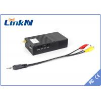 Buy cheap COFDM Mini 1W body worn SD wireless video transmitter and receiver NLOS 2km from wholesalers