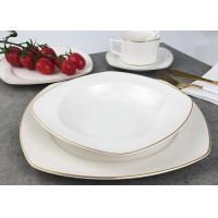 Buy cheap Real Gold Line Southwestern Dinnerware Sets Eco - Friendly Hand Painted product