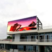 Buy cheap Good visual effect digital commercial p10 led big outdoor advertising screen product