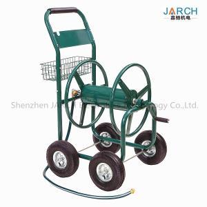 Buy cheap Liberty Garden Residential 4-Wheel Steel Garden Hose Reel Cart, Holds 350-Feet of 5/8-Inch Hose Green product