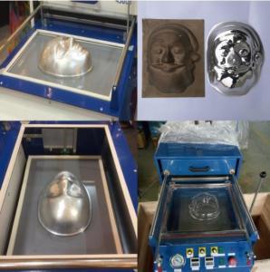 Buy cheap Mini Desktop Plastic Small Vacuum forming machine for Acrylic, PVC, ABS ,PET etc product