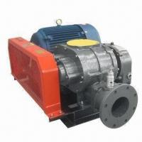 Buy cheap Tri Lobe Roots Blower with Aquaculture, Vibration Absorber Ground Bolts and 1,460 to 2,100rpm Speed product