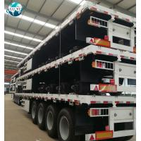 Buy cheap 4 axle side wall stake fence cargo livestock semitrailer for sale product