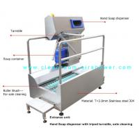 Buy cheap Passage Boot Sole Washer , Sole Cleaning Machine For Entrance Unit In Food Workshop product
