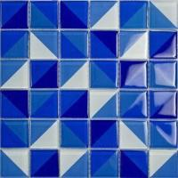 Kitchen bathroom wall tiles crystal glass mosaic double color in one tile easy to clean - How to clean bathroom wall tiles easily ...