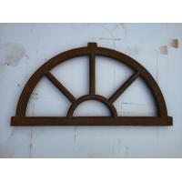 Old Cast Iron Antique Window Frames For Lighting French Style H36xW67CM