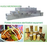 Buy cheap Automated Food Sterilization Equipment Microwave Food Drying Machine product