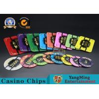 Quality Square Crystal Acrylic Poker Chips With Custom Logo / Super Touch Texture Poker Plaque for sale